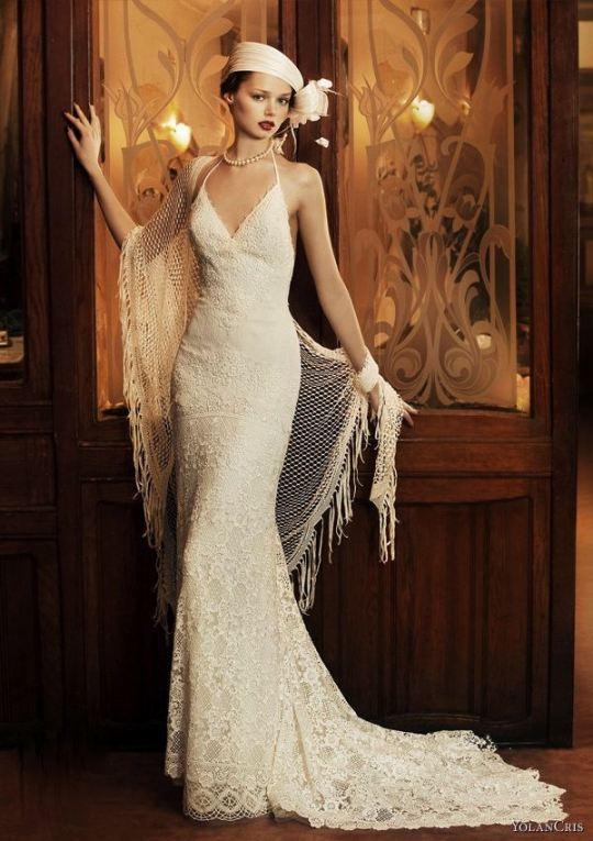 Свадебное платье в стиле 80 годов