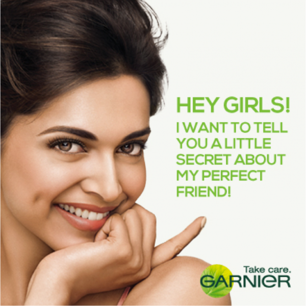 PR Info: Garnier signs Deepika Padukone as its new brand ambassador