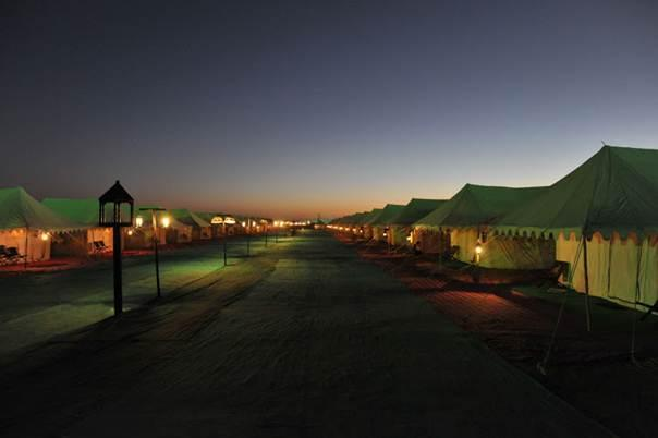Tented Accommodation at Rann Utsav