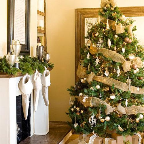 christmas tree ribbon decoration ideas photo3