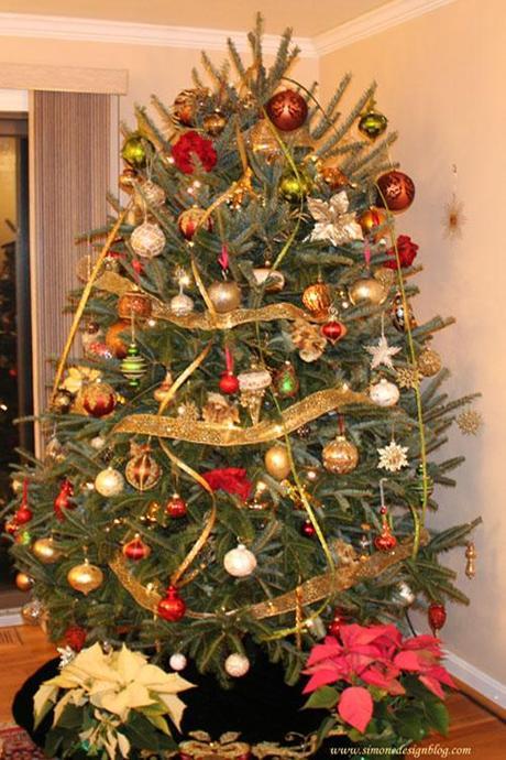 decor christmas tree idea7 Christmas Tree Decorating Ideas HomeSpirations