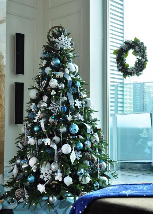 Christmas tree decorating ideas paperblog for Xmas tree decoration ideas