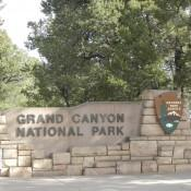 Entrance of Grand Canyon National Park South Rim