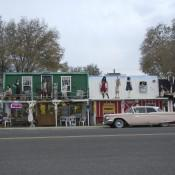 Old Time Shops along Route 66 Road Trip Las Vegas to Flagstaff