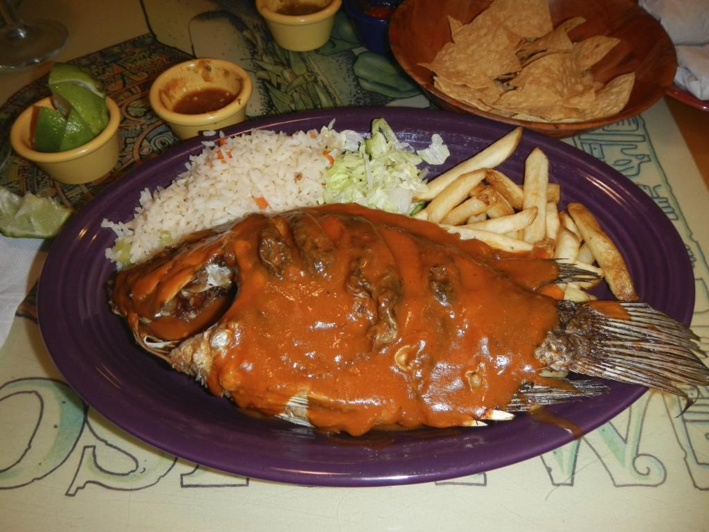 Delicious Mariscos at Altamar in Albuquerque New Mexico