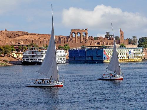 Egypt-5B-023 - Approaching Aswan