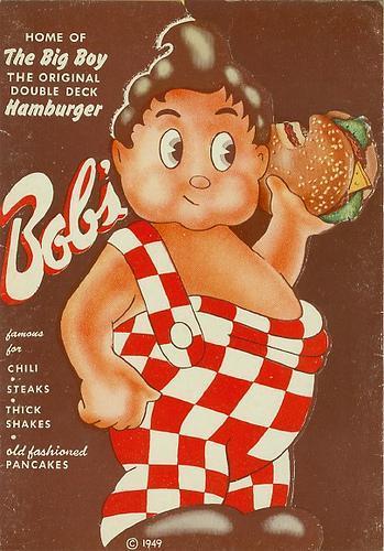 Bob's Big Boy menu 1