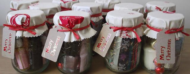 DIY Christmas Gift Jars