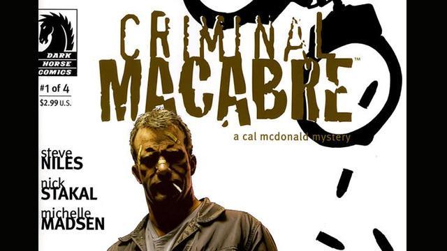 Criminal Macabre A Cal McDonald Mystery Steve Niles