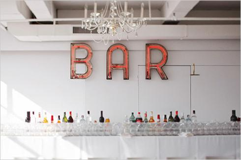 Love me a neon BAR sign. Image via Alexan Events
