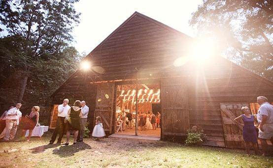 Barn Wedding Dream Location