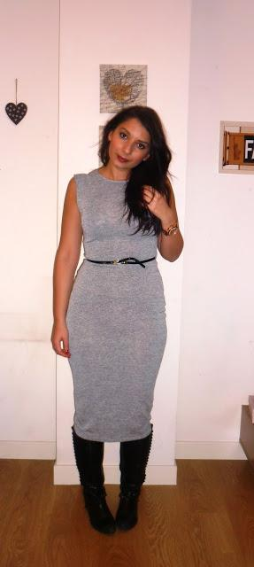 Primark midi dress Day to night OOTD