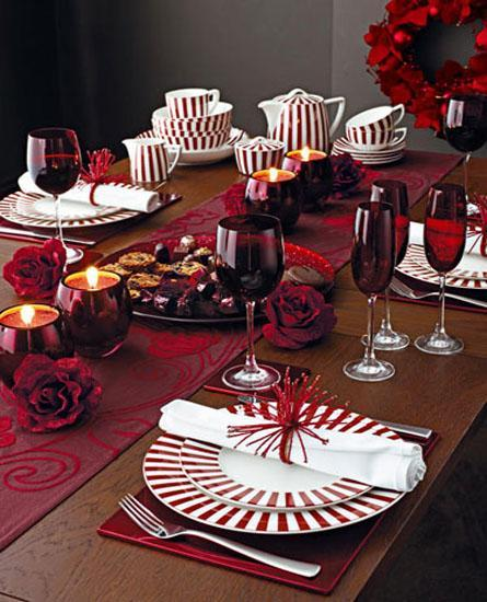 decor red and white christmas6 Decorate for Christmas with Red and White HomeSpirations