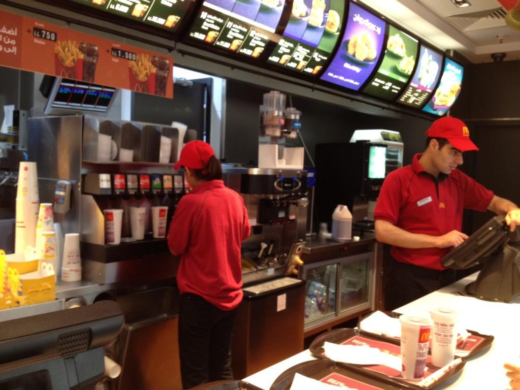 "working at mcdonald s In the article ""working at mcdonald's,"" by amitai etzioni argues that working at fast food places, such as mcdonald's, can negatively impact teens education."