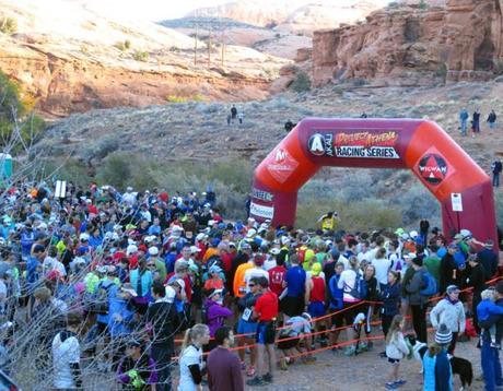 Moab Trail Half Marathon