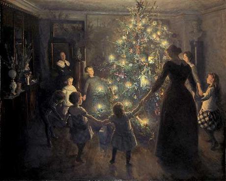 A very gloomy Victorian Christmas