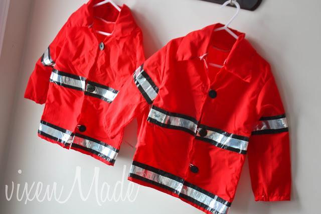 Kids Firefighter Jacket