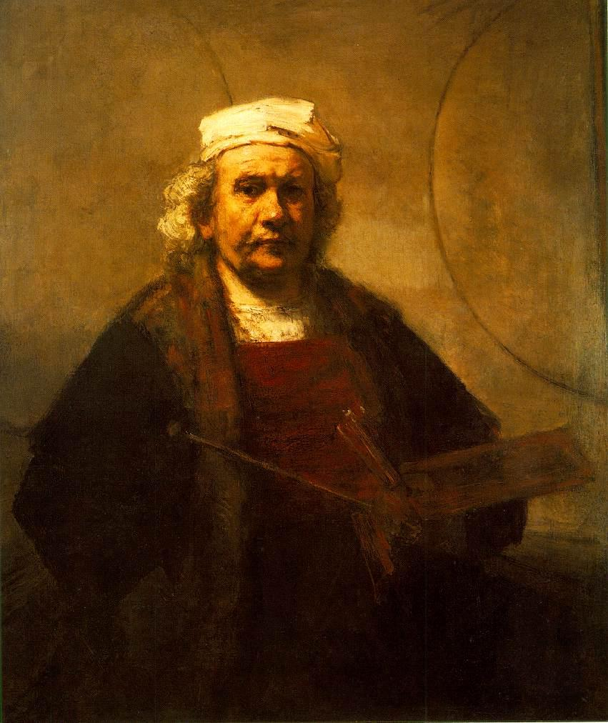 rembrandt self portrait Original Painting: Learn to paint like a master artist