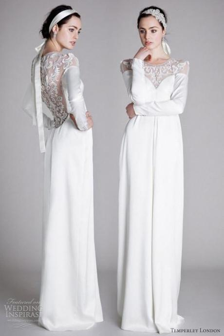 Estella by Alice Temperley is the perfect winter wedding dress.