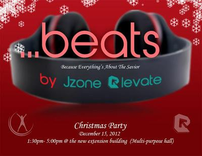 Bring your teen to B.E.A.T.S. a Christmas party of a gr
