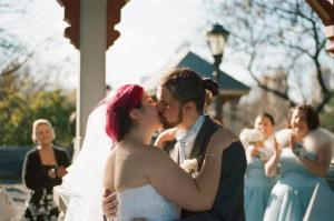 Laura and Alan's Winter Central Park Wedding