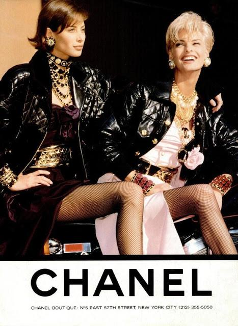 CHANEL//80s AD