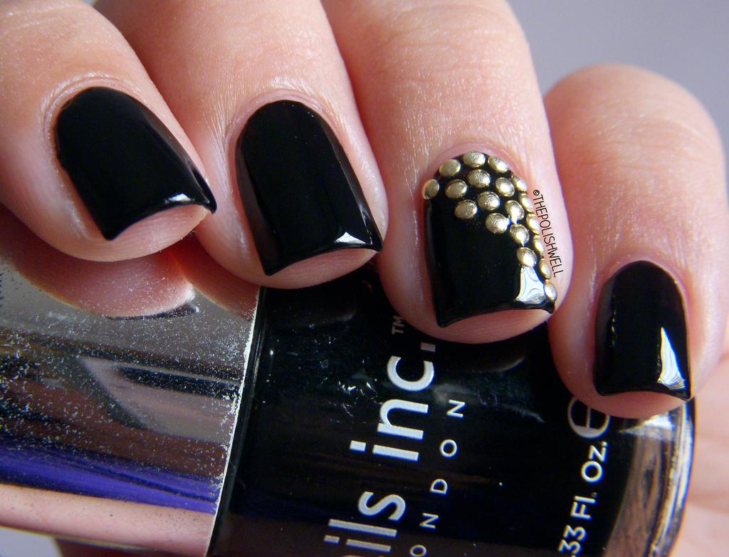 Nail Art Studded Nails04