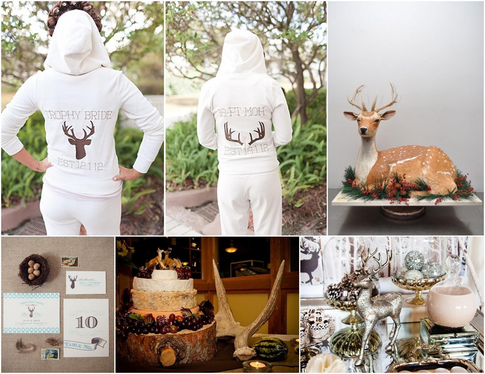 Reindeer Antler Hoodie Bride Hoodies Antlers And
