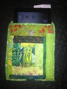 ipad cloth holder handcrafted