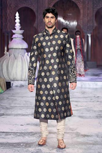 Men Sherwani by JJ Vallaya