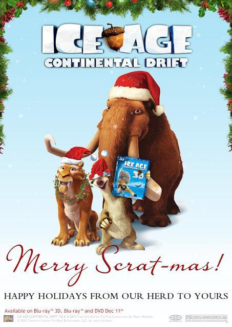 Holiday Fun with Ice Age Continental Drift