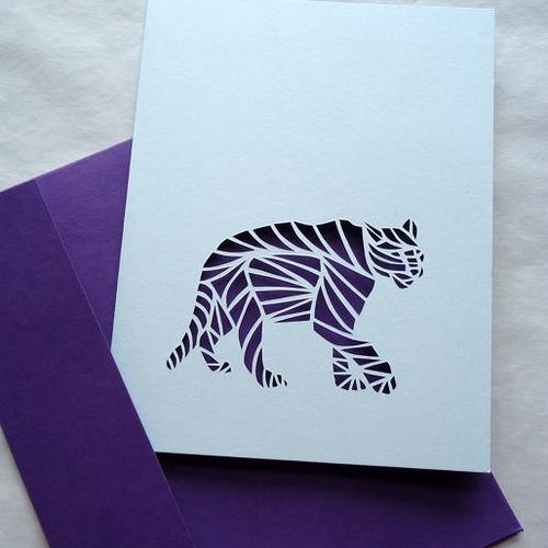 Cut Paper Animals - The Implied Line - Paperblog