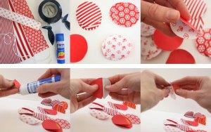 Decorating Your Home For Christmas Plus Paper Bauble Garlands Craft Tutorial