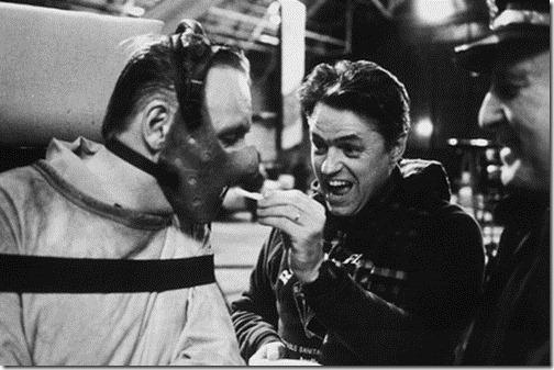 Silence of the lambs 10 Awesome Behind the Scenes Horror Film Photos