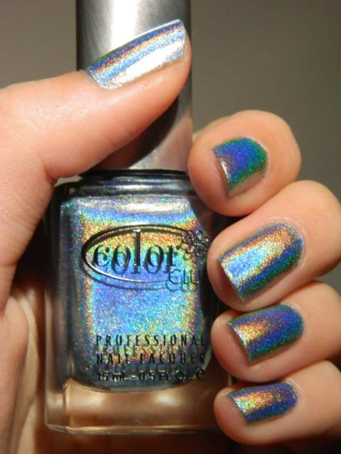 Color Club Halo Hues Blue Heaven Nail Lacquer Review