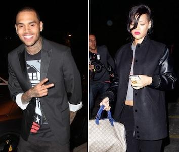 Matchy Matchy: Chris Brown and Rihanna Rolex Watches