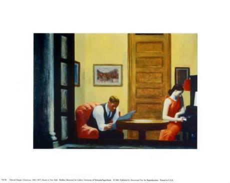 Room in New York Art Print