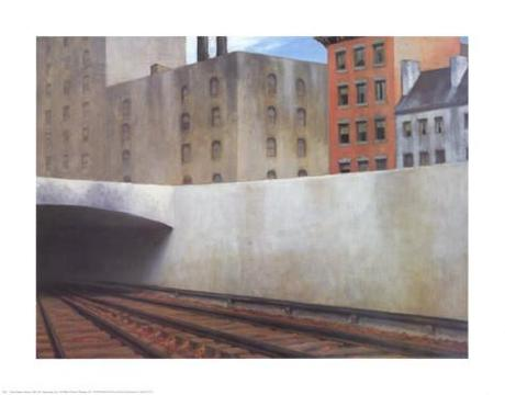 Approaching a City Art Print