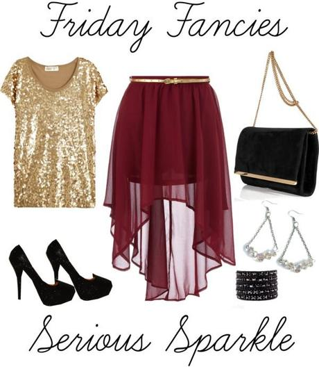 Friday Fancies - Serious Sparkle