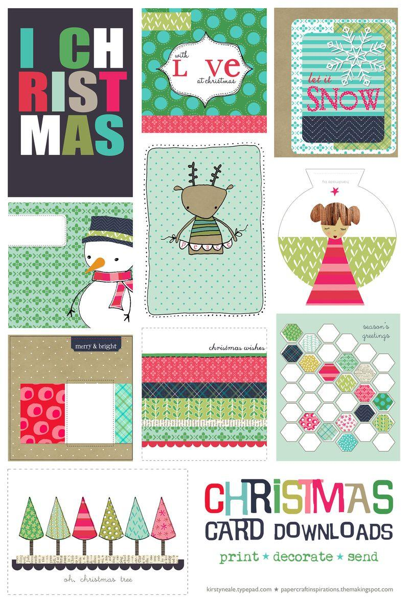 fpf christmas card printables