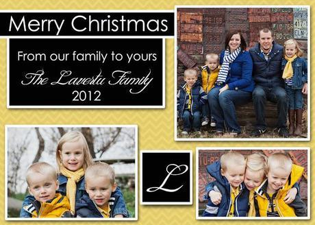 FPF:  Christmas Card Printables