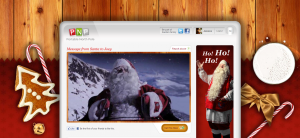 Portable North Pole Video: Santa Claus is Coming to Town!