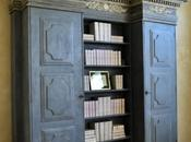 Rustic Plaster Wall, Antiqued Bookcase Great Client Friend