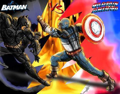 Batman vs Capt. America
