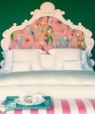 emerald and pink bedroom How to Use Emerald in Your Childs Room (Pantone 2013 Color of the Year!)