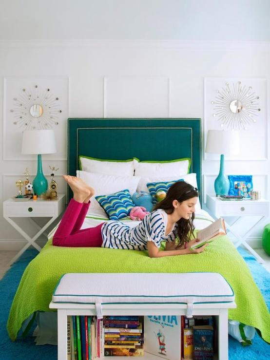hgtv green How to Use Emerald in Your Childs Room (Pantone 2013 Color of the Year!)