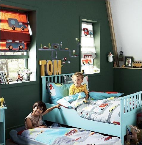boys room emerald walls How to Use Emerald in Your Childs Room (Pantone 2013 Color of the Year!)