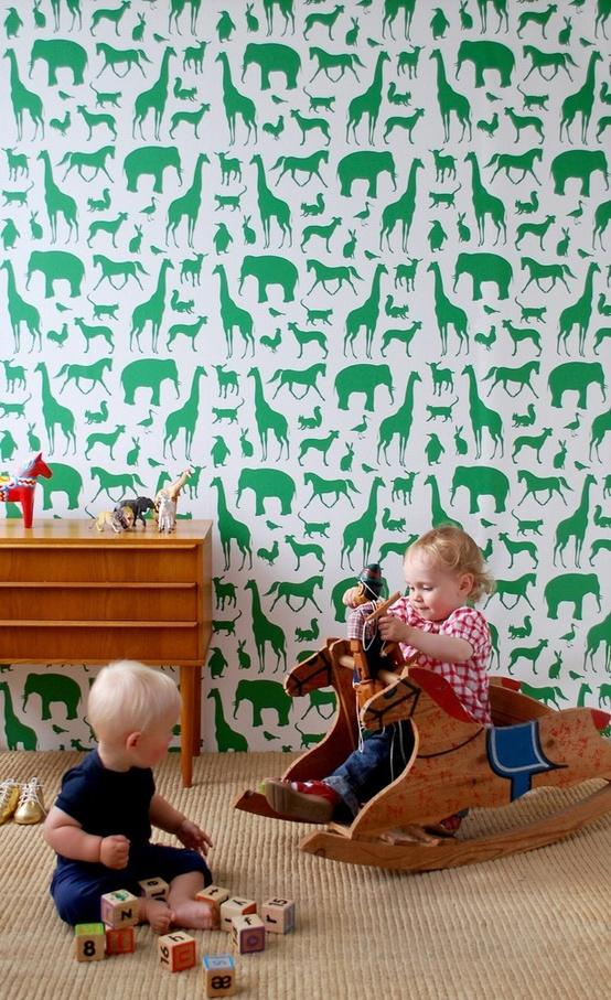 emerald wallpaper How to Use Emerald in Your Childs Room (Pantone 2013 Color of the Year!)