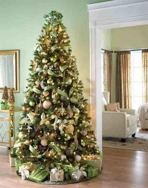 Latest christmas tree decorations for a