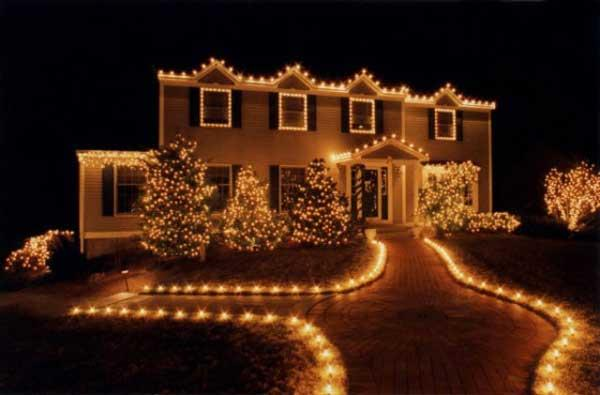 Home Decor Lighting For Christmas 2012 A Ravishing